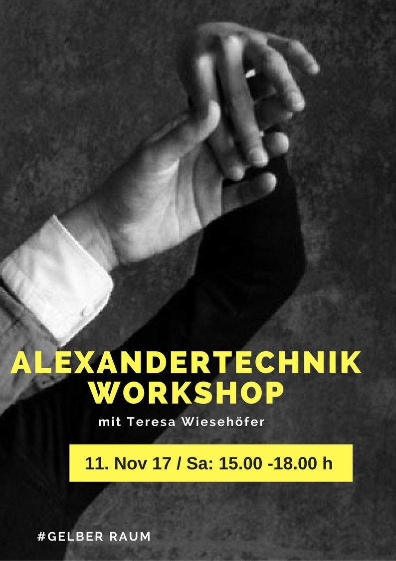 Alexandertechnik Workshop (1)